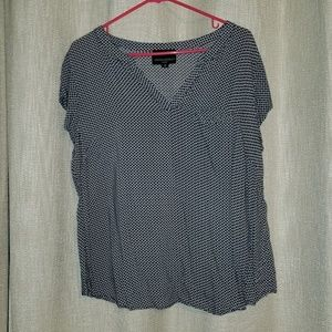 V neck womens top